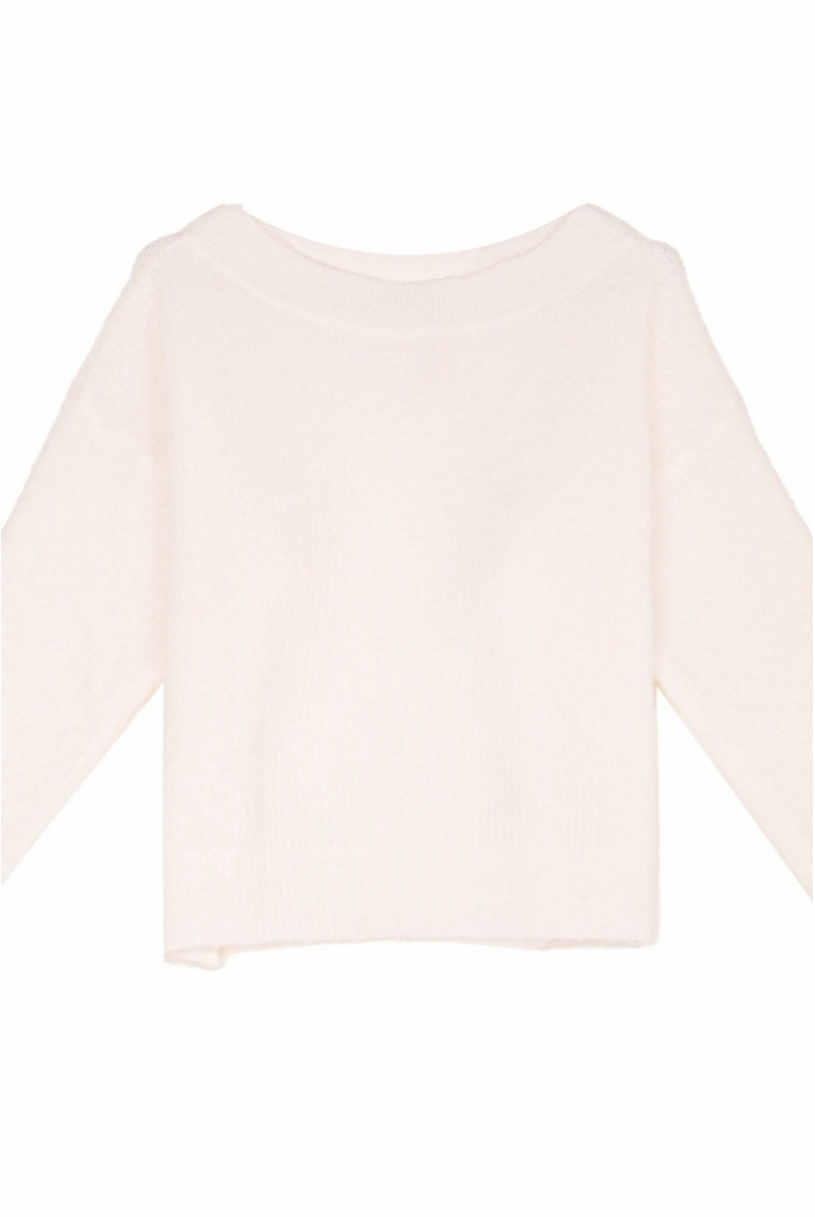 AMOURY KNIT OFF WHITE -