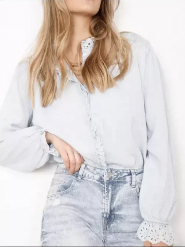 LANA BLOUSE WHITE -