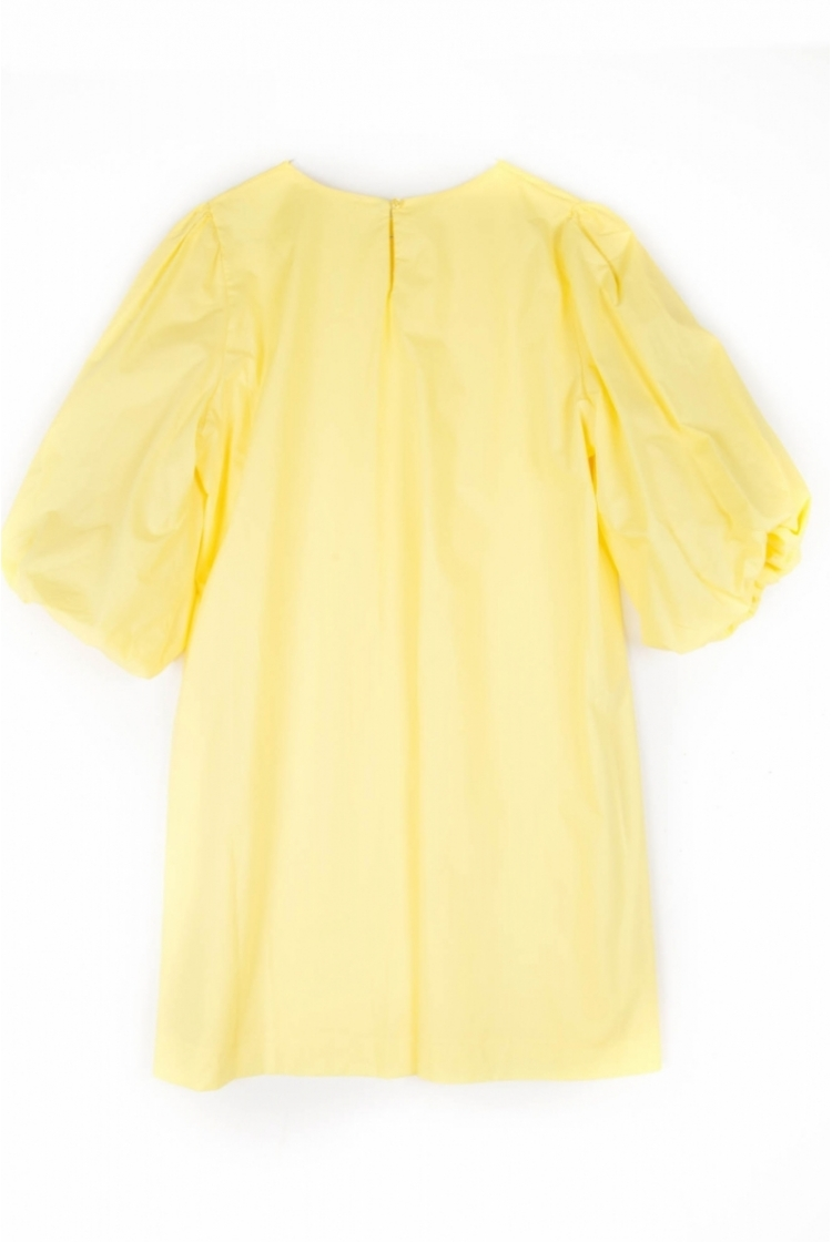 DINA COTTON DRESS YELLOW