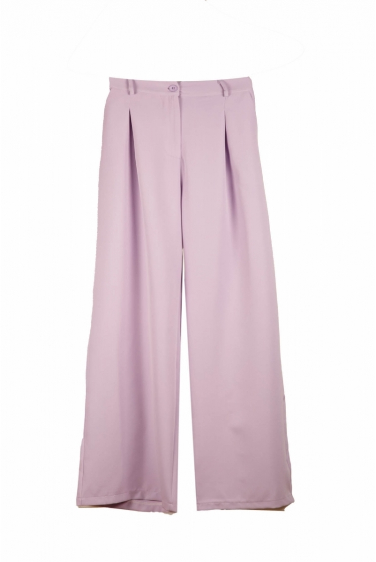 LIZY TROUSERS LILAC