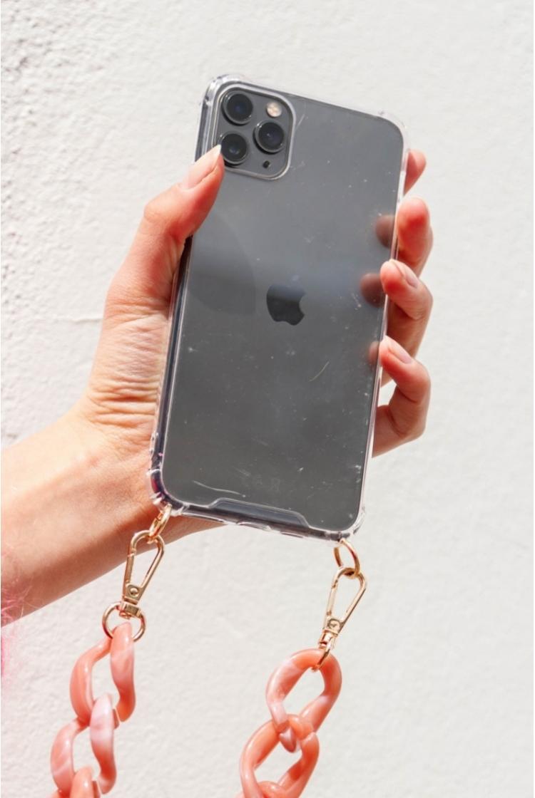 CLEAR PHONE CASE logo