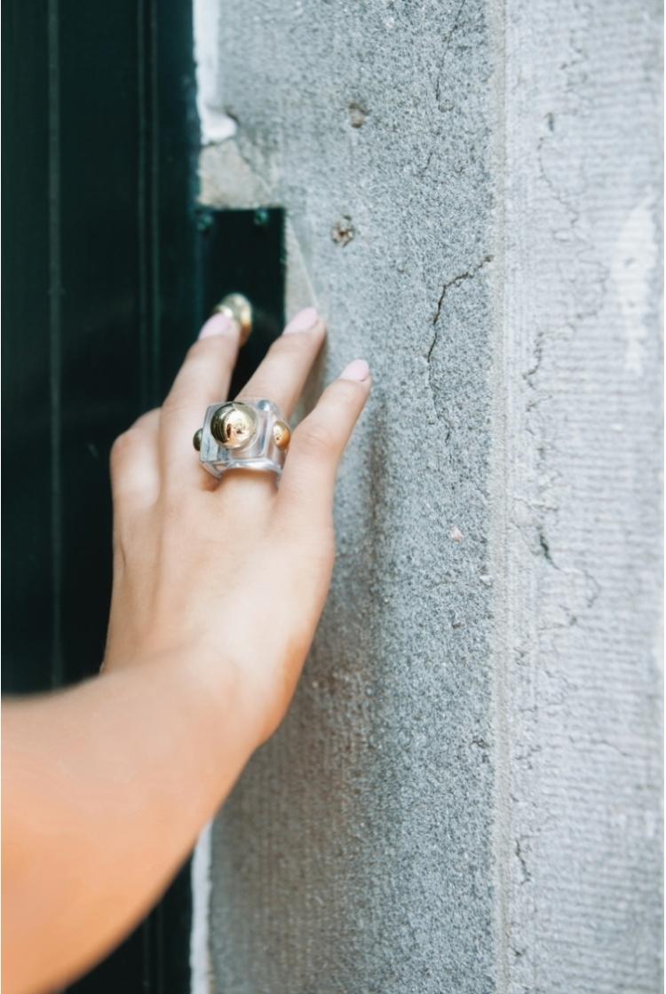 FUNKY BUBBLE RING logo