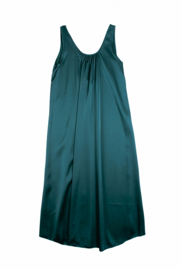 ARAYA LONG SATIN DRESS logo