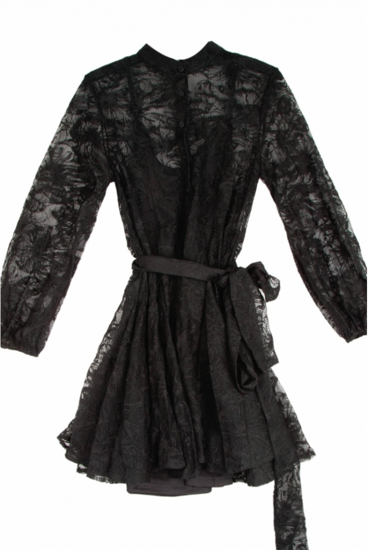 ELENA BRAIDED DRESS logo